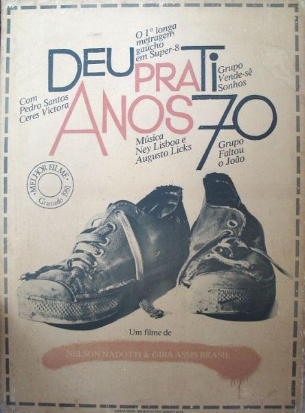""""""" Deu Pra Ti (show) vai completar 30 anos em dezembro. Em 1983 houve uma reprise, também no Renascença, mas acústica e mais simples"""" Augusto Licks"""