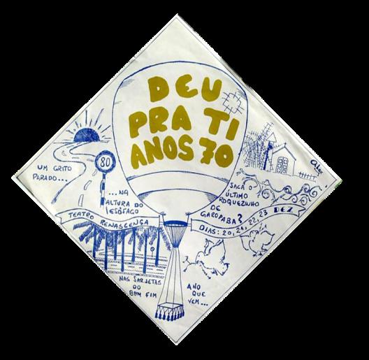 """Desenho feito por Alexandre Cavalcante (""""Sasha"""")"""